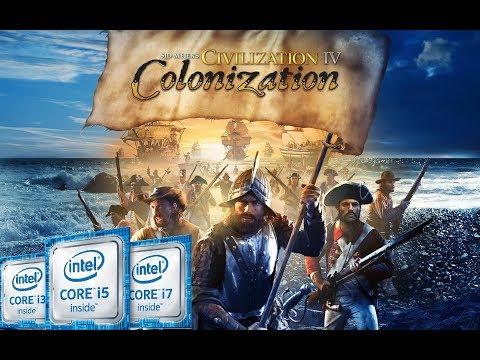 Civilization 4 Colonization | Intel Kaby Lake (HD 620) | HD 1080p |