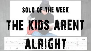Solo Of The Week: 39 The Offspring -  The Kids Aren