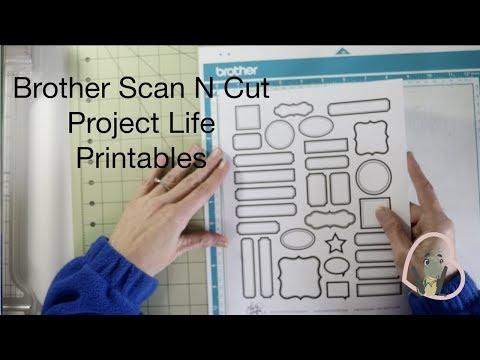 Brother Scan N Cut | Free Printables
