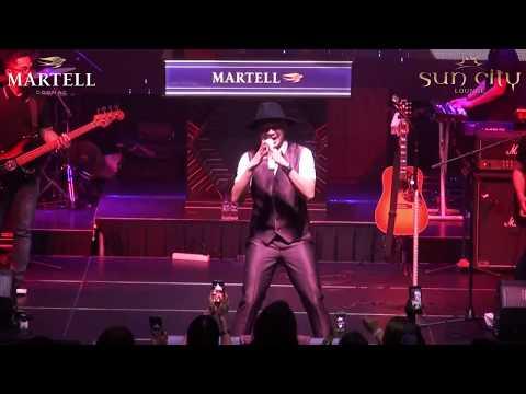 ANJI - Bidadari Tak Bersayap Live Martell Event Be Curious at Sun City Lounge Jakarta