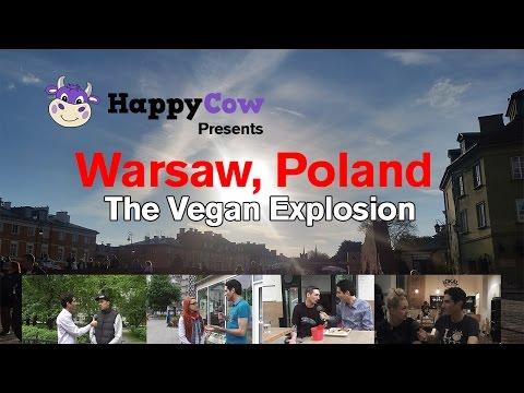 Warsaw, Poland - The Vegan Explosion! Interviews by Ken Spector