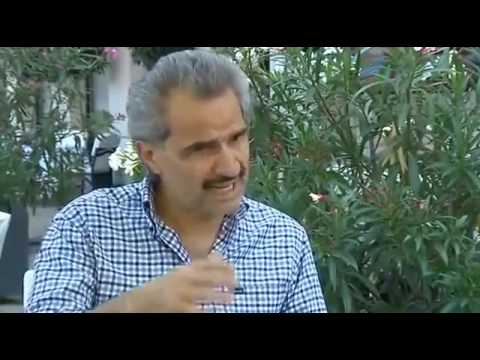 Latest interview with Saudi prince Al Waleed