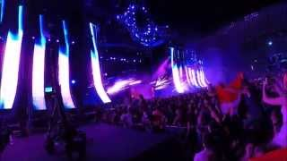Martin Garrix Live @Ultra Europe 2014 | Full Set | GoPro