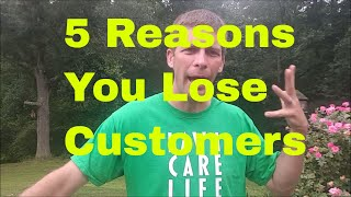 5 Reasons a lawn care business may lose a customer