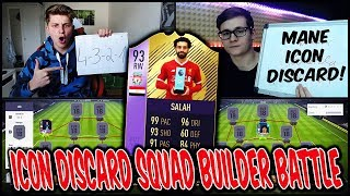 Nächste ICON abgestoßen? ⛔️🔥 93 Potm SALAH Squad Builder Battle vs RealFifa ⛔️ Fifa 18 Ultimate Team