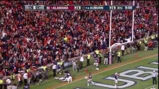 Repeat youtube video Auburn Chris Davis 109 Yard Game Winning Missed Field Goal Return in The Iron Bowl