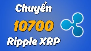 Chuyển 10700 Ripple XRP Về Ví Ledger Nano S