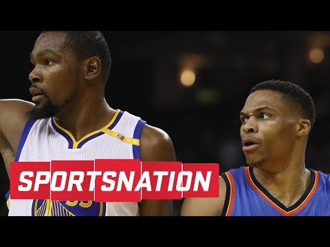 Are Kevin Durant and Russell Westbrook still 'friends' if they don't talk? | SportsNation | ESPN