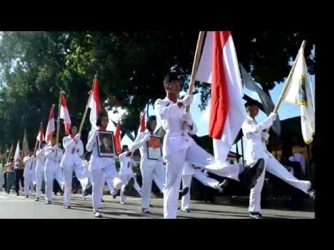 Karnaval HUT 51 Skansa Meriah Start di alun-alun Banjarnegara