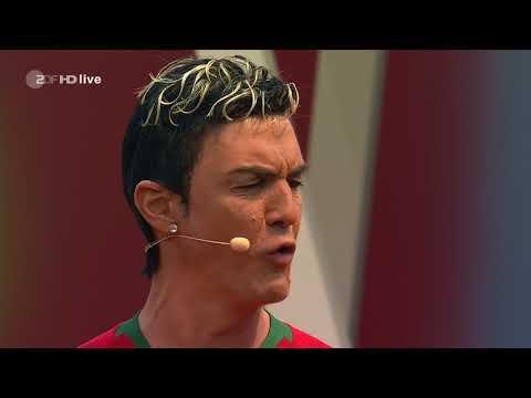 Matze Knop parodiert einen weltklasse... (Ronal..) - ZDF Fernsehgarten 13.05