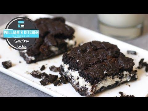 oreo-géant-façon-cookie-moelleux-|-william's-kitchen