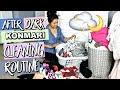 DEEP KONMARI CLEANING NIGHT ROUTINE & SKINCARE ROUTINE