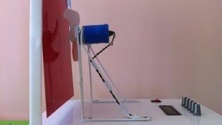 PID Kontrol Fan - Kanat Deney Düzeneği- PID CONTROLER Fan & Plate Control Apparatus