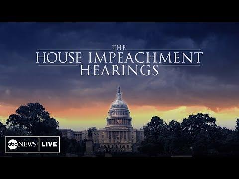 Impeachment Hearings Day 3:  Williams, Vindman, Volker And Morrison Full Testimony