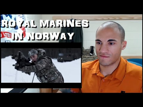 US Marine reacts to Royal Marine Cold Weather Training