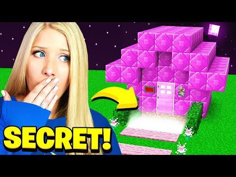 FINDING MY WIFES *SECRET* MINECRAFT HOUSE!