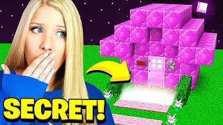 FINDING MY WIFE'S *SECRET* MINECRAFT HOUSE!