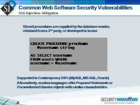 Webcast: The Most Dangerous Vulnerabilities - Finding, Understanding, and Mitigating Them