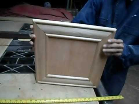 Carpinter a puertas de 45 molduras pt 2 youtube - Molduras de madera para pared ...