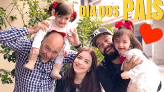 NOSSO ALMOÇO DE DIA DOS PAIS | Jéssica e as Gêmeas