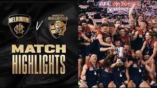 Melbourne v Western Bulldogs Highlights | 2021 Toyota AFL Grand Final | AFL