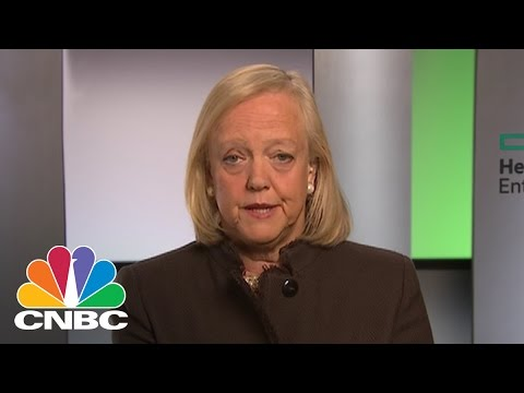 HPE's Meg Whitman: I'm Supporting President-Elect Donald Trump | CNBC
