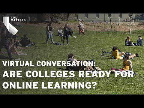 Watch at 1 p.m.: Are Colleges Ready for Online Learning During the Pandemic?