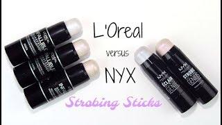 L'Oreal versus NYX Illuminator Sticks - Which One Wins?