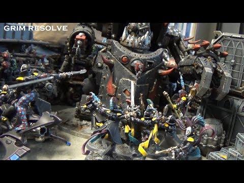 Orks vs Drukhari & Harlequins 8th Edition 40k 2000 Points Matched Play