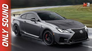 NEW LEXUS RC F TRACK EDITION 2019 - FIRST PREVIEW ONLY SOUND