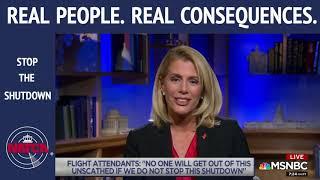 NATCA EVP Trish Gilbert, MSNBC - Jan  24, 2019