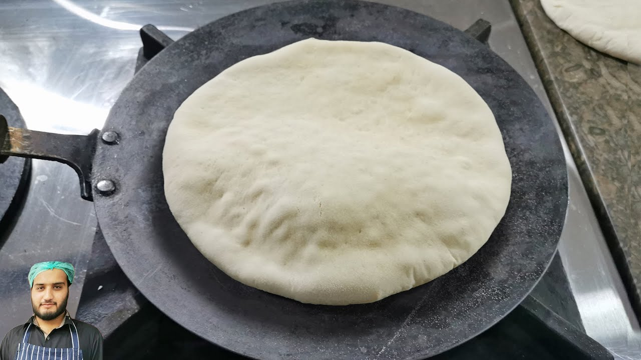 Shawarma / Pita Bread without Oven at Home