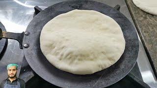 Shawarma / Pita Bread without Oven at Home screenshot 5