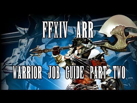 Warrior best in slot ffxiv arr