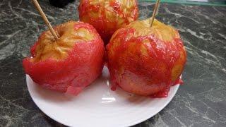 Запеченные яблоки в карамели / Baked apples in caramel ,/Küpsetatud õunad ahjus/Bratäpfel im Ofen