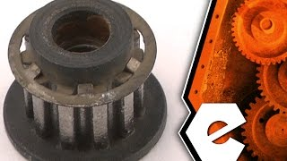 Belt Sander Repair - Replacing the Drive Pulley (Porter Cable Part # 695738)