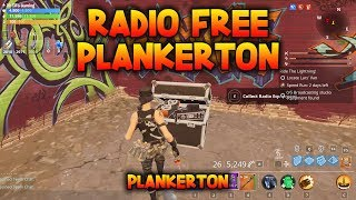RADIO FREE PLANKERTON - Find 5 pieces of broadcasting equipment - Fortnite Save the World