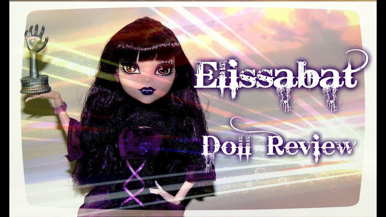 Monster High Elissabat Doll Review - YouTube