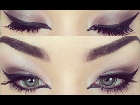 Purple Smokey Eye Great For People With Green Eyes