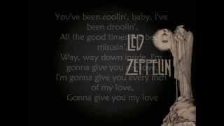 Led Zeppelin-Whole Lotta Love-Lyrics