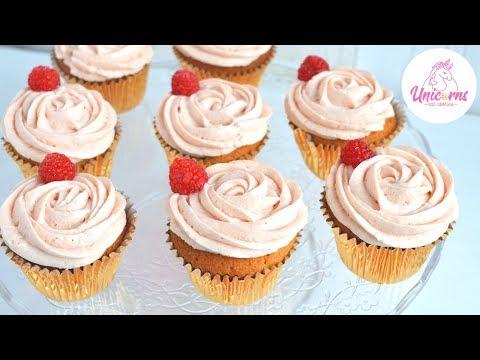 La Cupcake ai Lamponi e Namelaka: Facile, Buona e Bella 🦄