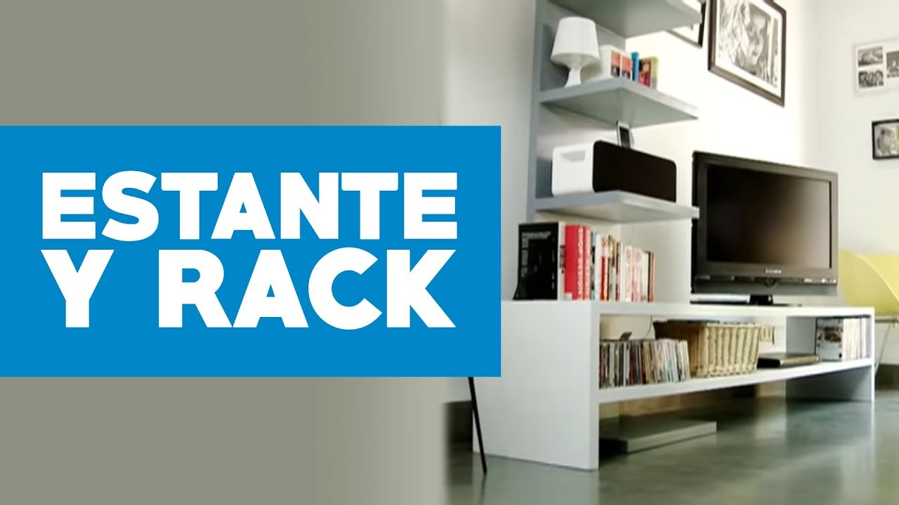 Multimuebles Para Tv Plasma Cómo Construir Un Estante Y Rack Modular