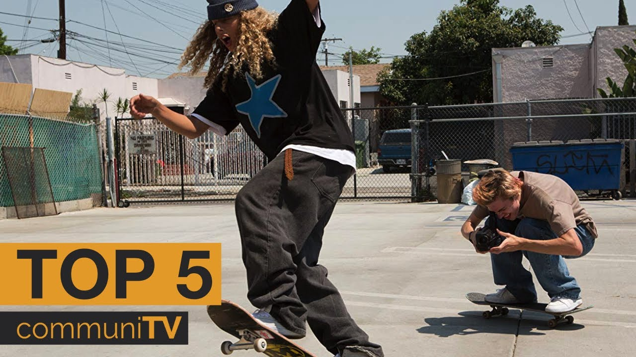 Top 5 Skateboarding Movies Youtube