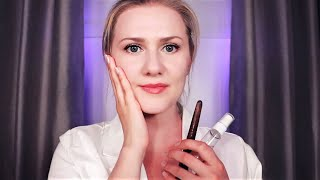 Face Reflexology Session 💆‍♀️ ASMR • Soft Spoken • Oil • Touch • Sleepy
