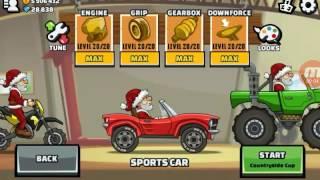 Hill climb racing 2, testowanie pojazdów ulepszonych na maxa [hacked]