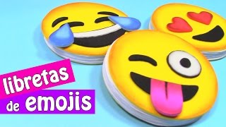 Repeat youtube video Manualidades: LIBRETAS de EMOJIS (Súper fácil) - Innova Manualidades