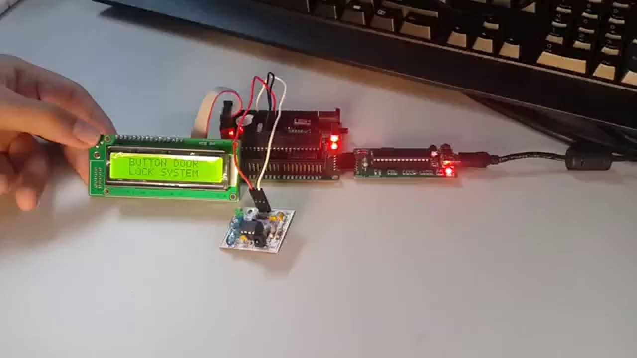 Ec501 Embedded System Mini Project Robot Robo Car Android Bluetooth Remote Control Using 89c2051