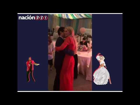 PEÑA NIETO bailando una CUMBIA con su novia TANIA RUIZ