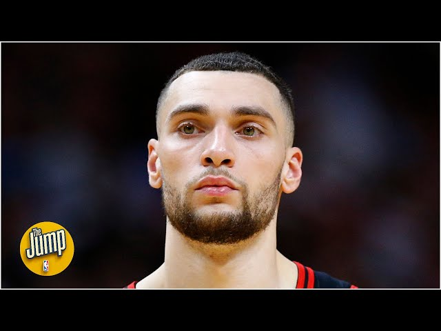 Zach LaVine addresses trade rumors & talks challenges of playing during the pandemic | The Jump