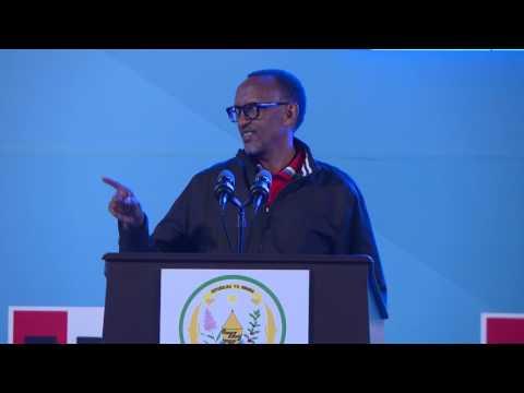 President Kagame speaks at the RPF Congress | Kigali, 17 June 2017
